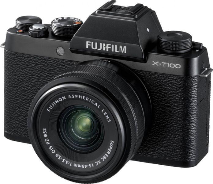 FujiFilm X-T100 + XC 15-45 OIS PZ Black