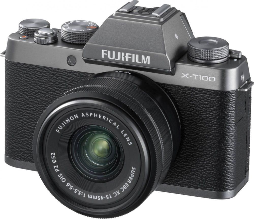 FujiFilm X-T100 + XC 15-45 OIS PZ Dark Silver