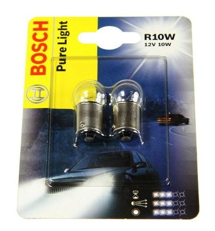 Bosch Žárovka typ R10W, 12V, 10W, Pure Light