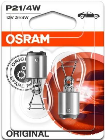 Osram Žárovka typ P21/4W, 12V, 21/4W, Standard