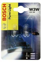 Bosch Žárovka typ W3W, 12V, 3W, Pure Light