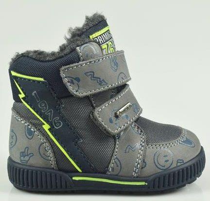 Primigi buty zimowe chłopięce 21 szary
