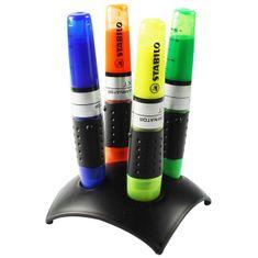 Stabilo Zvýrazňovač Luminator stolní set 4 barvy