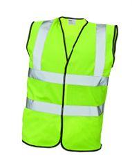 Cerva Pracovná vesta Lynx Plus žltá XXL