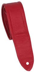 Perris Leathers AP02 Leather Red Kytarový popruh
