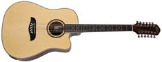 Oscar Schmidt OD312CE-A-U Dvanáctistrunná elektroakustická kytara
