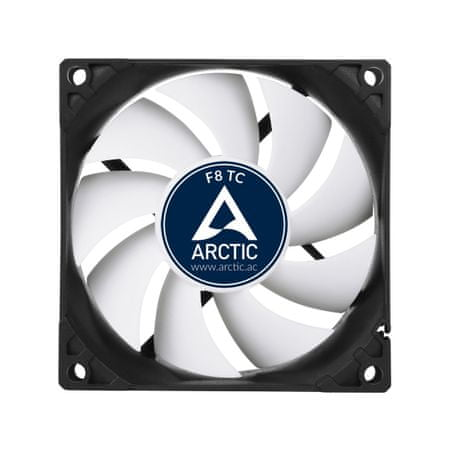 Arctic ventilator F8 TC 80mm 3-pin