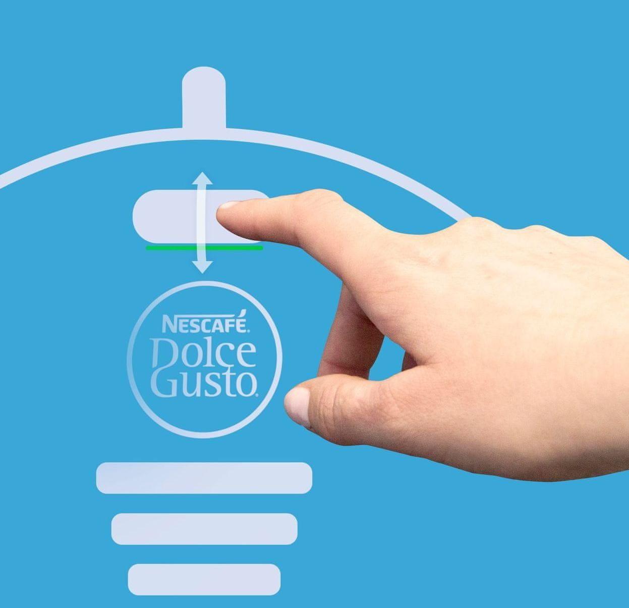 NESCAFÉ Dolce Gusto Lumio automatické zastavení vody