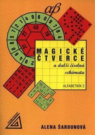 Šarounová Alena: Magické čtverce a další číselná schémata, alfabetník 2