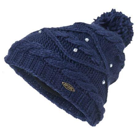 Rip Curl ženski pleten klobuk Knit Pow, temno moder