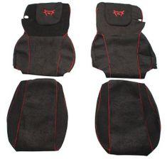 F-CORE Potahy na sedadla CS02 RD, černé