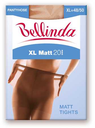 Bellinda XL MATT 20 DEN světle hnědá XXL