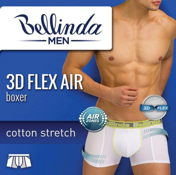 Bellinda 3D FLEX AIR BOXER světle modrá XL