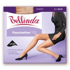 Bellinda punčochové kalhoty BE225001 FASCINATION 15 DEN bronzová S
