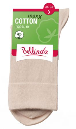 Bellinda COTTON MAXX LADIES SOCKS tělová 35 - 38