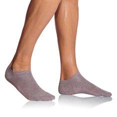 Bellinda krátke pánske ponožky BE497554 BAMBUS AIR IN-SHOE SOCKS sivá 43 - 46