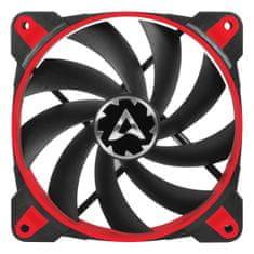 Arctic ventilator BioniX F120 PWM PST, 120 mm, 4-pin, rdeč