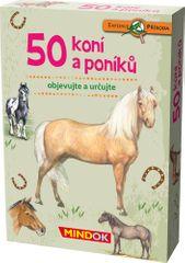 Mindok 50 koní a poníků