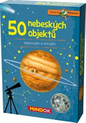 Mindok 50 nebeských objektov