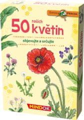 Mindok 50 květin