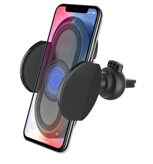 MAX Multifunkční držák mobilního telefonu s Qi bezdrátovým nabíjením