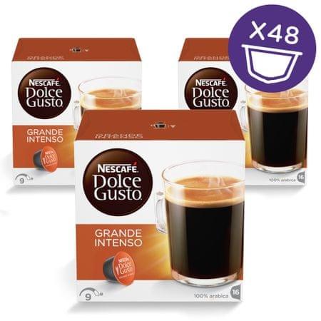 NESCAFÉ Dolce Gusto Grande Intenso kava 160g (16 kapsul), trojno pakiranje