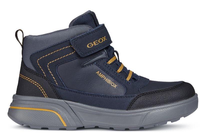 Geox chlapecké zimní boty Sveggen 28 modrá 1fbcc724ac