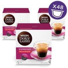 NESCAFÉ kapsule Dolce Gusto Espresso Decaffeinato, trostruko pakiranje
