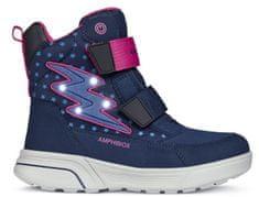 Geox buty zimowe za kostkę dziewczęce Sveggen
