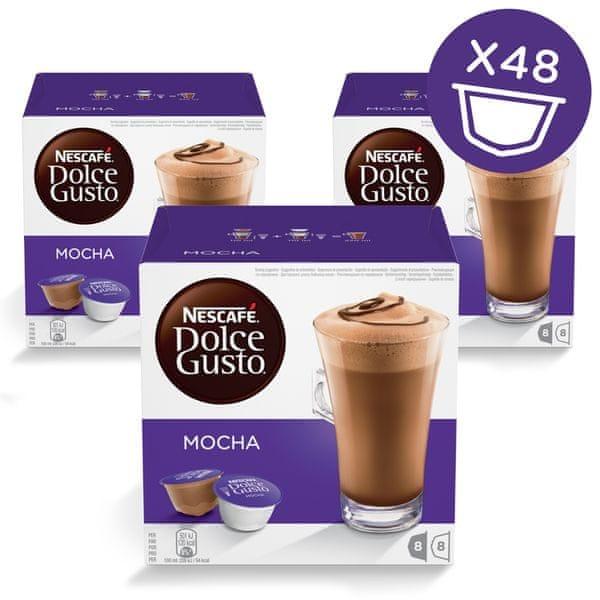 NESCAFÉ Dolce Gusto® kávové kapsle Mocha 3balení