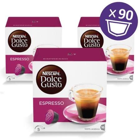 NESCAFÉ Dolce Gusto Espresso, 3 kosi