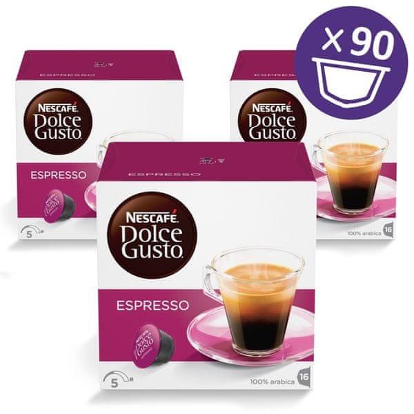 NESCAFÉ Dolce Gusto® kávové kapsle Espresso XXL 3balení