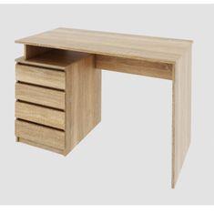 PC stôl, dub sonoma, HANY