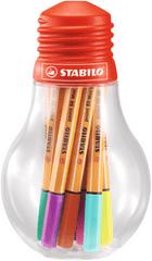 Stabilo Liner Point 88 mini Colorful Ideas, 12 farieb, 0,4 mm