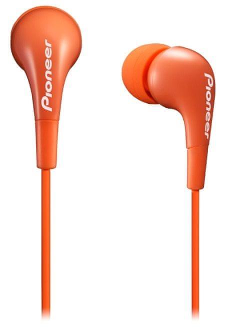 Pioneer SE-CL502 sluchátka špunty, oranžová