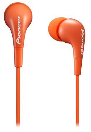 Pioneer SE-CL502 Fülhallgató, Narancssárga
