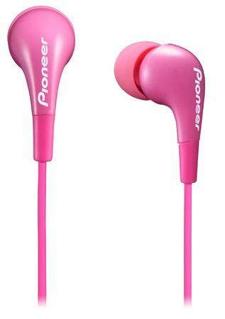Pioneer SE-CL502 Fülhallgató, Rózsaszín