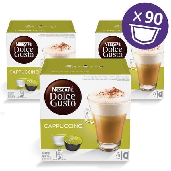 NESCAFÉ Dolce Gusto® kávové kapsle Cappuccino 3balení XXL