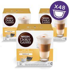 NESCAFÉ Dolce Gusto® kávové kapsle Latte Macchiato Vanilla 3balení
