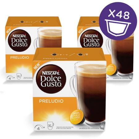 NESCAFÉ Dolce Gusto® kávové kapsle Preludio 3balení