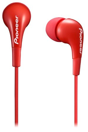 Pioneer SE-CL502 Fülhallgató, Piros