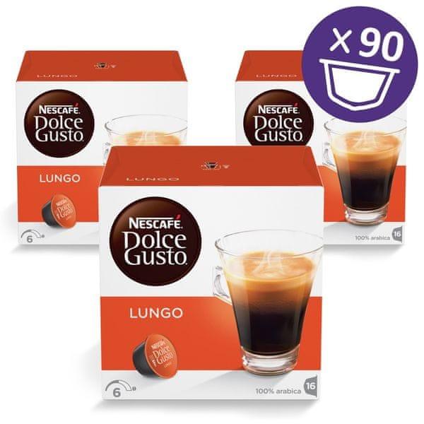 NESCAFÉ DOLCE GUSTO CAFFE LUNGO 3balení XXL