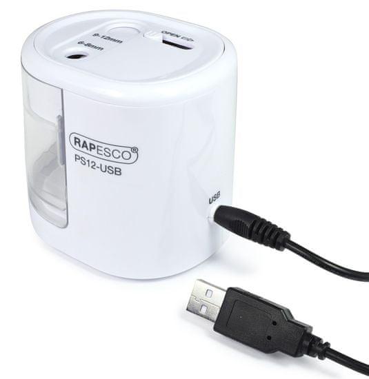 Rapesco Stolné strúhatko PS12-USB, biela