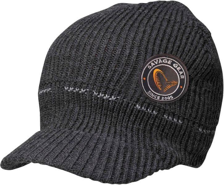 Savage Gear Čepice Simply Savage Knitted Beanie W Brim 87bd2b65b0