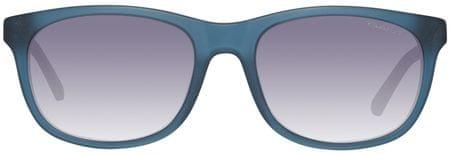 Gant męskie okulary przeciwsłoneczne niebieskie