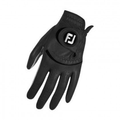 FootJoy Spectrum Golf rukavice Levák Černá S Levá (pro praváky) S