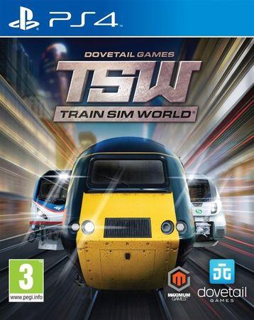 Maximum Games Train Sim World (PS4) datum izida: 24.7.2018
