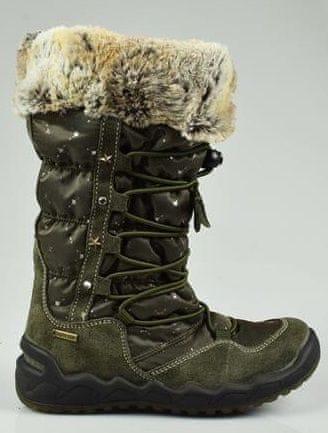 Primigi dívčí zimní obuv 31 zelená