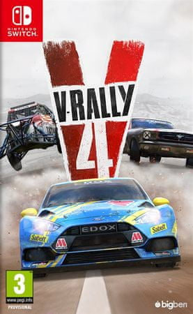 Bigben igra V-Rally 4 (Switch)