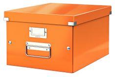 Krabice CLICK & STORE WOW střední archivační, oranžová